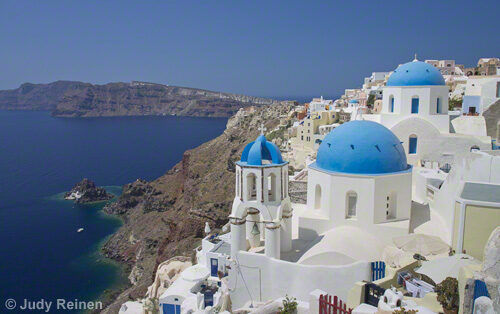 Art Food & Shopping Tours on Santorini - the view
